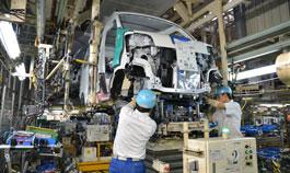 組み立て工程| ダイハツ九州の中津工場