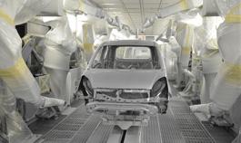 塗装工程| ダイハツ九州の中津工場