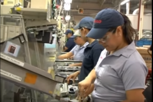 デンソー期間工の工場 女性活躍