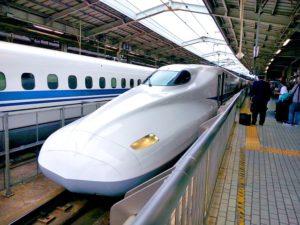 期間工になるために新幹線で移動