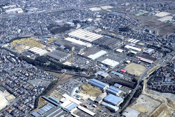 コマツ期間工の大阪工場