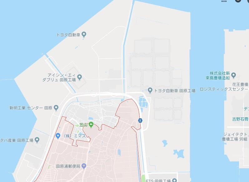 アイシンaw-田原寮